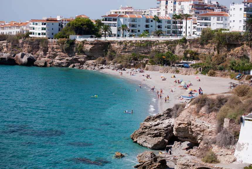 Playa el Salon Nerja