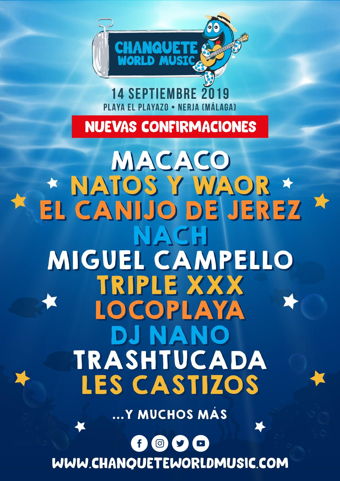 Cartel Chanquete World Festival 2019