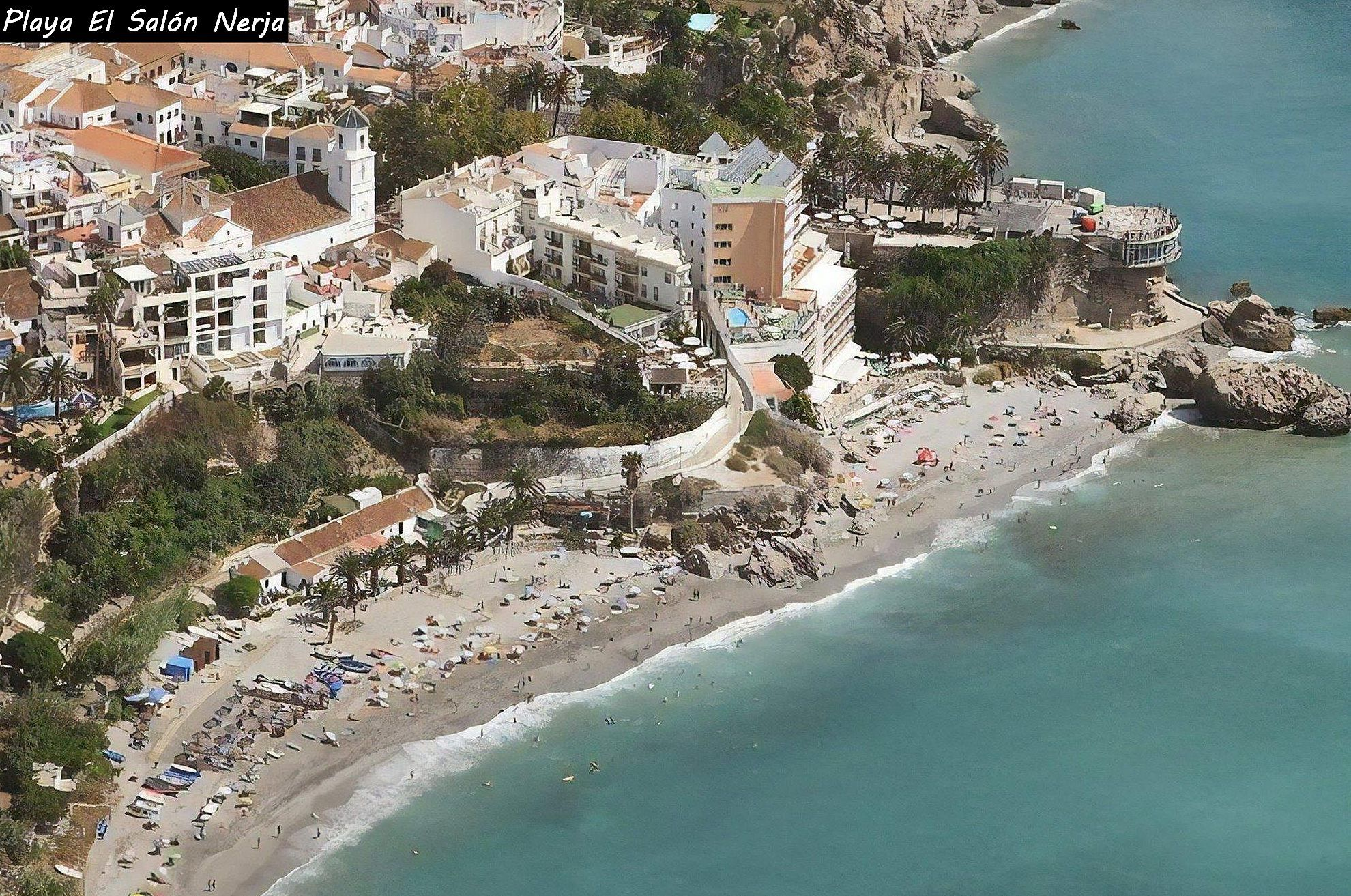 playa el salon nerja foto